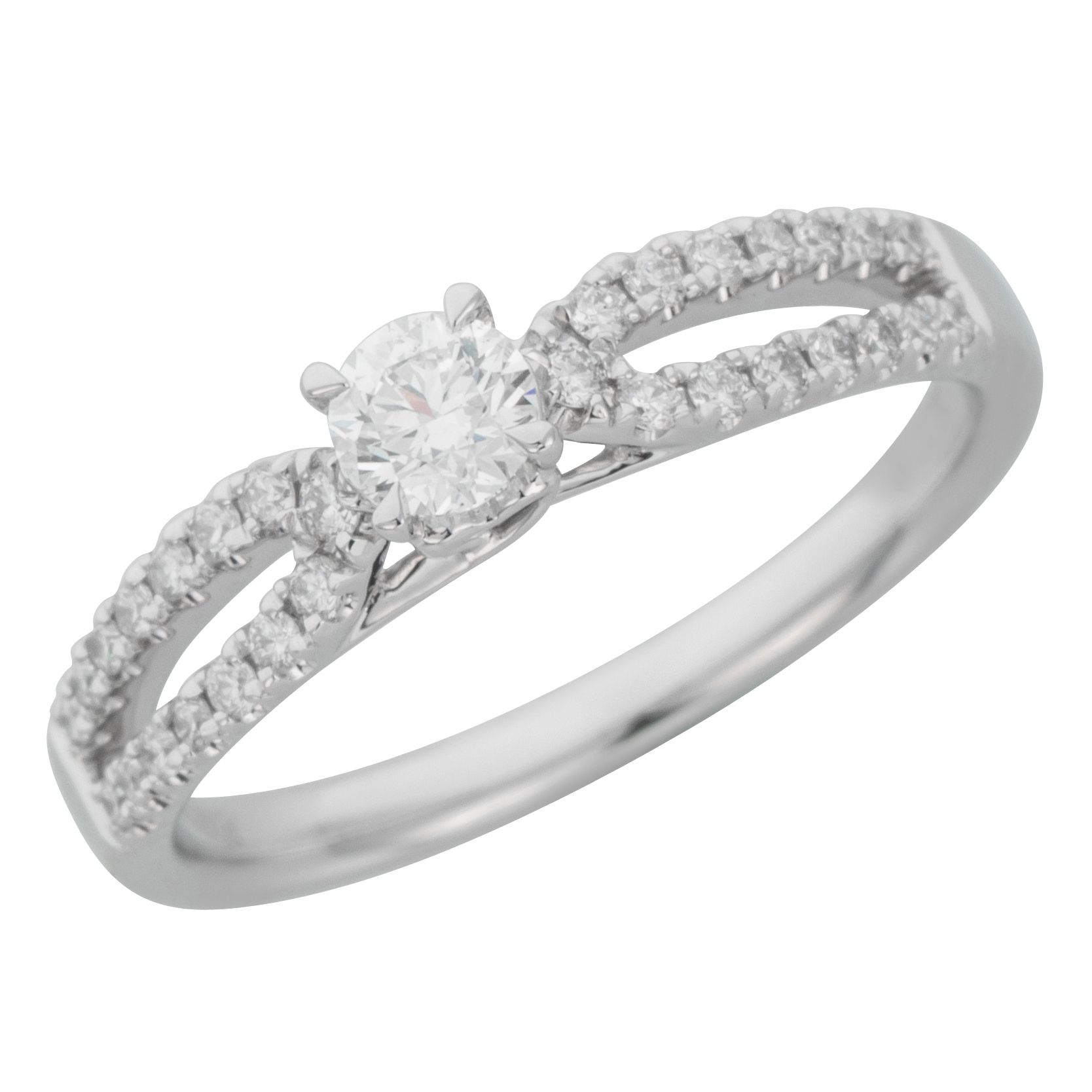 diamond white pave round rings top gold engagement ring for cash