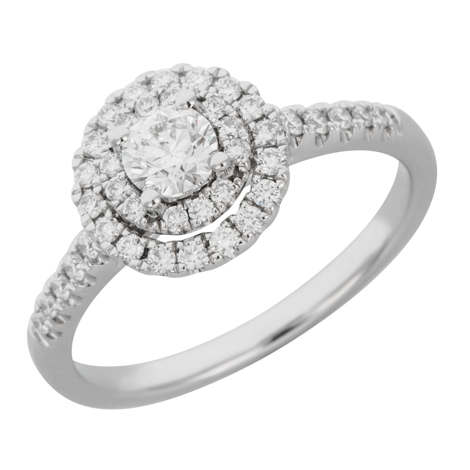 row engagement white ring img product rings gold diamond double